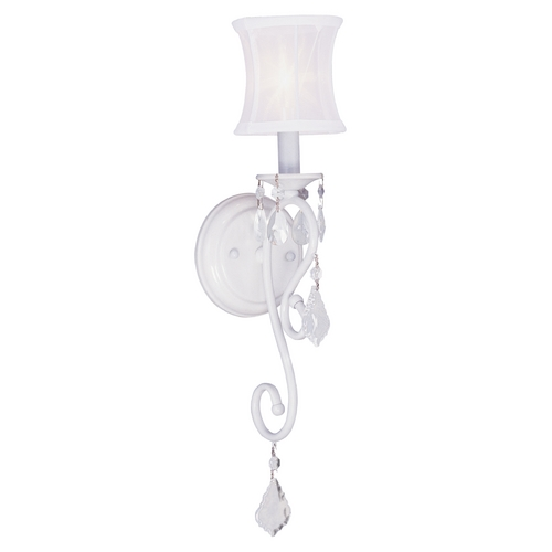 Livex Lighting Livex Lighting Newcastle White Sconce 6301-03