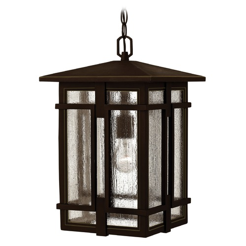 Hinkley Lighting Hinkley Lighting Tucker Oil Rubbed Bronze Outdoor Hanging Light 1962OZ