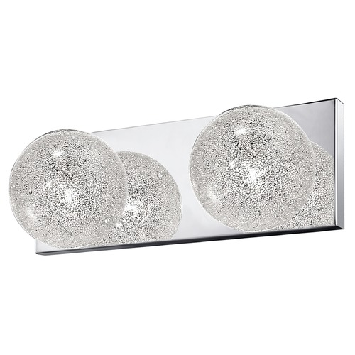 Access Lighting Access Lighting Opulence Stainless Steel Bathroom Light 62322-MSS/CLR