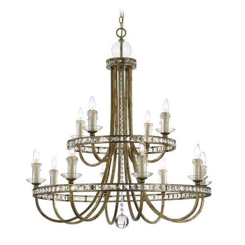 AF Lighting Aristocrat Chandelier 8208-12H