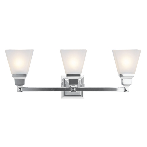 Livex Lighting Livex Lighting Mission Chrome Bathroom Light 1033-05