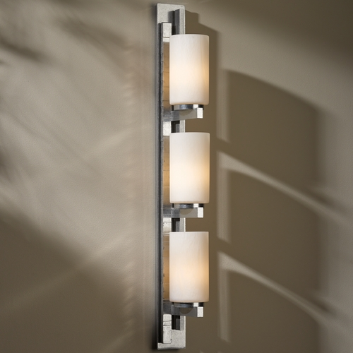 Hubbardton Forge Lighting Ondrian Vintage Platinum Bathroom Light - Vertical Mounting Only 206315R-82-ZX168
