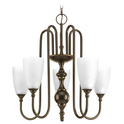 Progress Lighting Progress Lighting Revive Antique Bronze Chandelier P4235-20