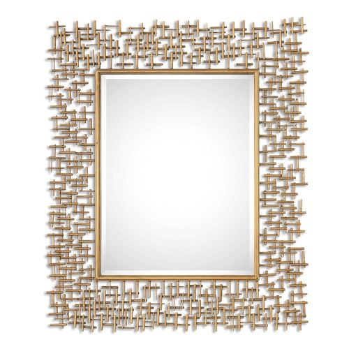 Uttermost Lighting Uttermost Nevena Gold Mirror 08139