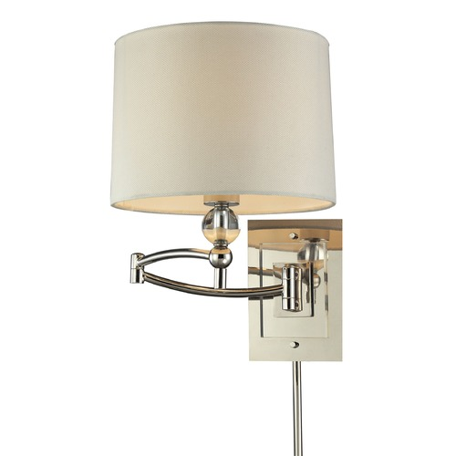 Elk Lighting Elk Lighting Swingarm Polished Nickel Swing Arm Lamp 31540/1