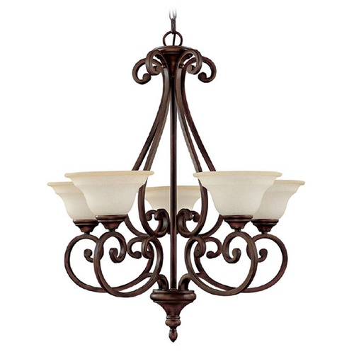 Capital Lighting Capital Lighting Chandler Burnished Bronze Chandelier 3075BB-292