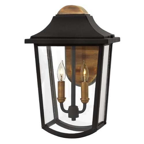 Hinkley Lighting Hinkley Lighting Burton Black Outdoor Wall Light 1974BK