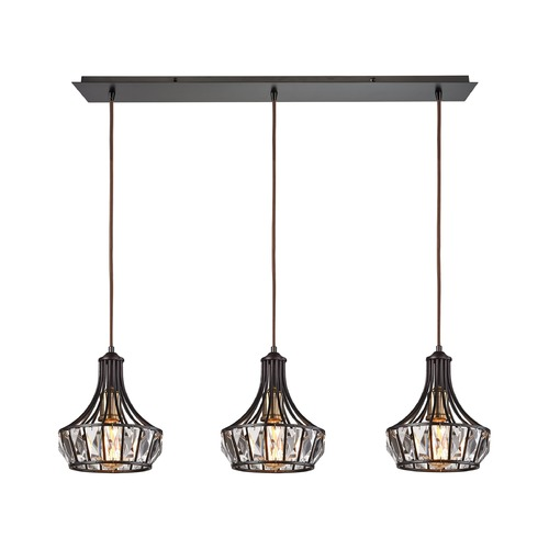 Elk Lighting Elk Lighting Yardley Oil Rubbed Bronze Multi-Light Pendant 14247/3LP