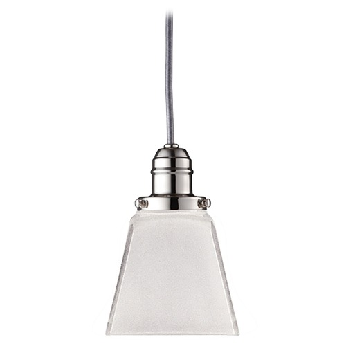 Hudson Valley Lighting Mini-Pendant Light with White Glass 3102-PN-436