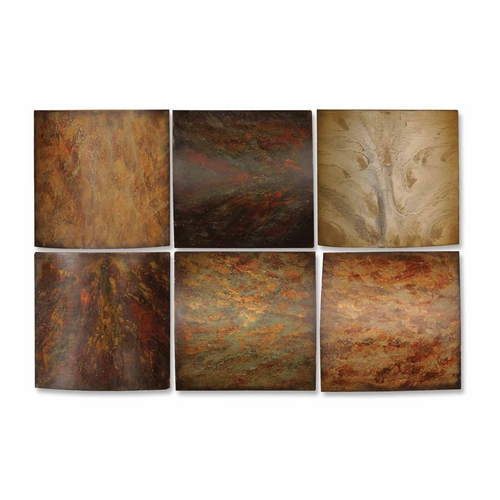 Uttermost Lighting Wall Art in Multi-Colored Finish 13355