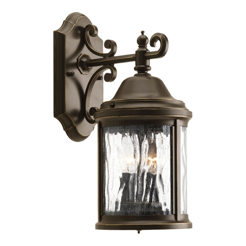 Progress Lighting Outdoor Wall Light with Clear Glass in Antique Bronze Finish P5649-20