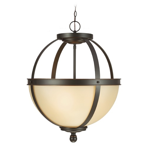 Sea Gull Lighting Sea Gull Lighting Sfera Autumn Bronze Pendant Light 6690403BLE-715