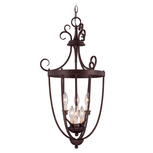 Savoy House Savoy House English Bronze Pendant Light 3P-80201-6-13