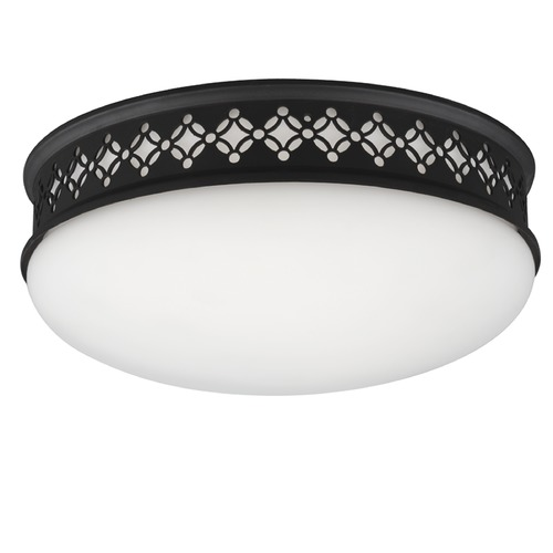 Feiss Lighting Feiss Lighting Devonshire Oil Rubbed Bronze LED Flushmount Light FM421ORB-LED