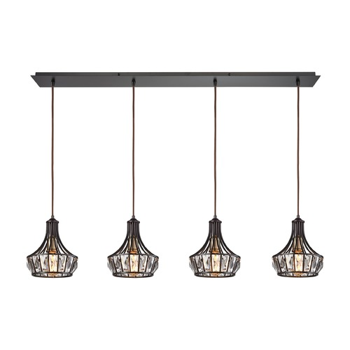 Elk Lighting Elk Lighting Yardley Oil Rubbed Bronze Multi-Light Pendant 14247/4LP