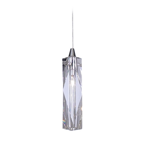 PLC Lighting Modern Mini-Pendant Light with Clear Glass 6075 PC