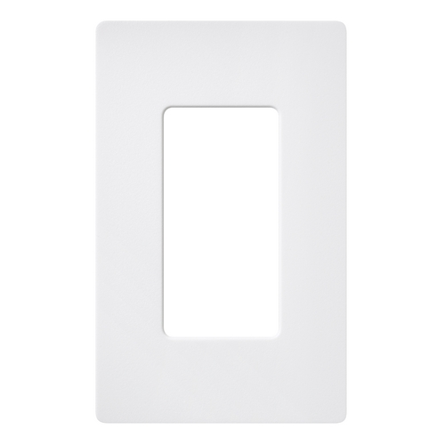 Lutron Dimmer Controls Single-gang Wallplate SC-1-SW