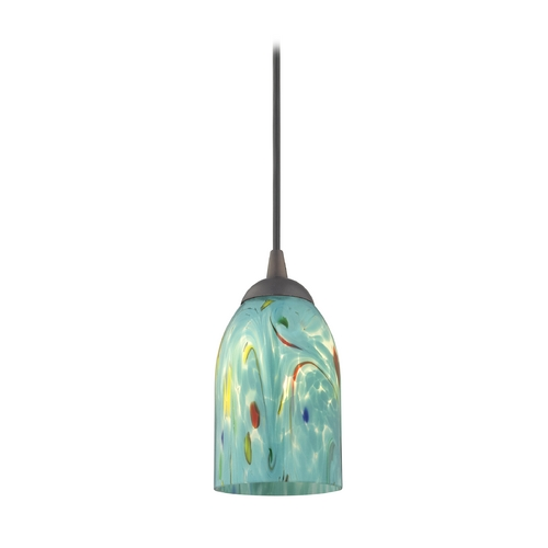 Design Classics Lighting Modern Mini-Pendant Light 582-220 GL1021D