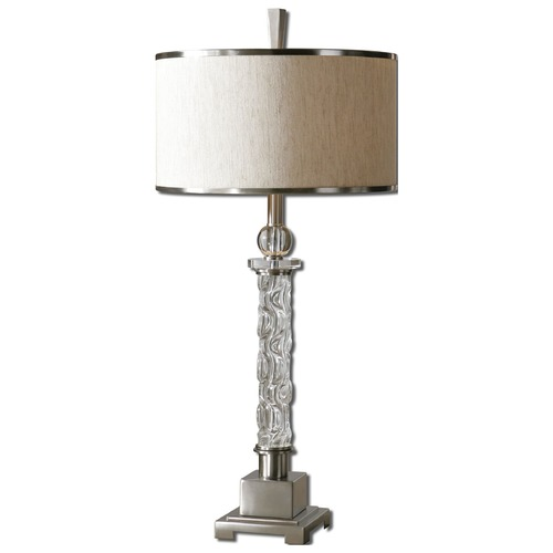 Uttermost Lighting Uttermost Campania Glass Table Lamp 26762-1