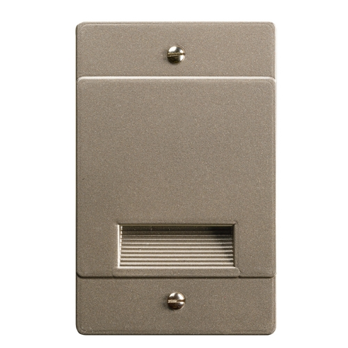 Kichler Lighting Kichler Lighting Step and Hall Light Brushed Nickel LED Recessed Step Light 12668NI
