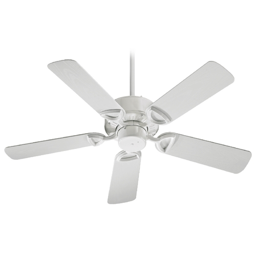 Quorum Lighting Quorum Lighting Estate Patio White Ceiling Fan Without Light 143425-6