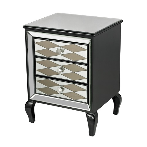 Sterling Lighting Black Diamond Chest 114-148