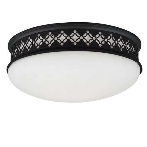 Feiss Lighting Feiss Lighting Devonshire Oil Rubbed Bronze LED Flushmount Light FM422ORB-LED