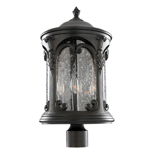 Kalco Lighting Kalco Shorecrest Burnished Bronze Post Light 401302BB