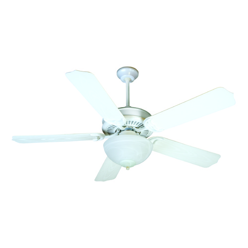 Craftmade Lighting Craftmade Lighting Porch Fan White Ceiling Fan with Light K11241