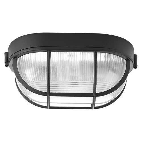 Progress Lighting Progress Lighting Bulkheads Black Close To Ceiling Light P3706-31