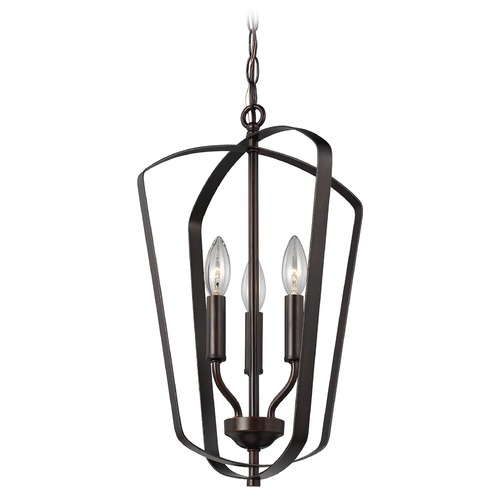 Sea Gull Lighting Sea Gull Lighting Romee Heirloom Bronze Pendant Light 5134903-782