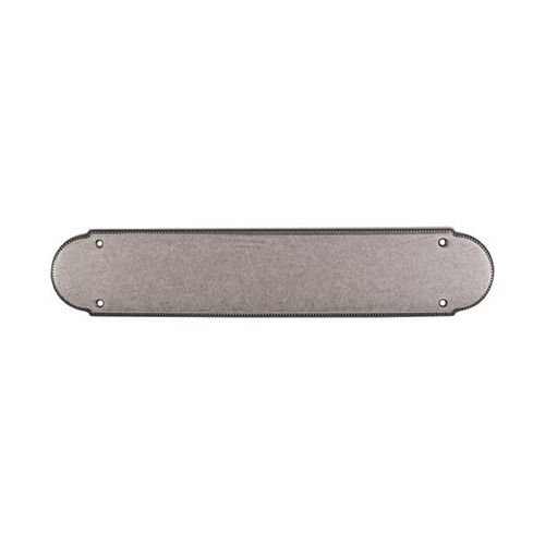 Top Knobs Hardware Push Plate in Pewter Antique Finish M893