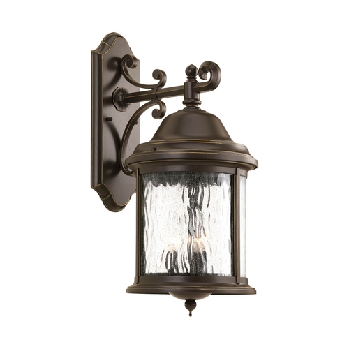 Progress Lighting Outdoor Wall Light with Clear Glass in Antique Bronze Finish P5651-20