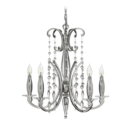 Frederick Ramond Chandelier in Polished Nickel Finish FR43625PNI