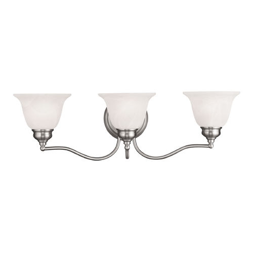 Livex Lighting Livex Lighting Essex Brushed Nickel Bathroom Light 1353-91