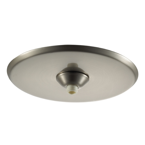 WAC Lighting Wac Lighting Brushed Nickel Ceiling Adaptor QMP-1RN-TR-BN