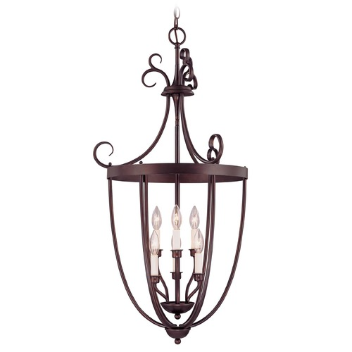 Savoy House Savoy House English Bronze Pendant Light 3P-80202-6-13