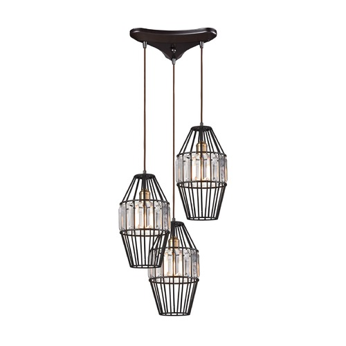 Elk Lighting Elk Lighting Yardley Oil Rubbed Bronze Multi-Light Pendant 14248/3