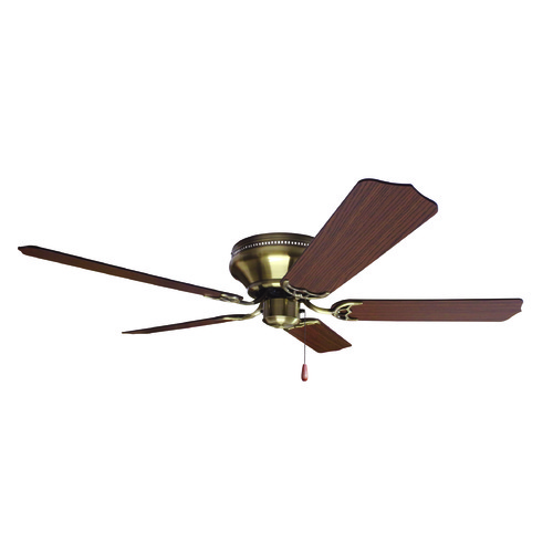 Craftmade Lighting Craftmade Lighting Pro Contemporary Flushmount Antique Brass Ceiling Fan Without Light K11242