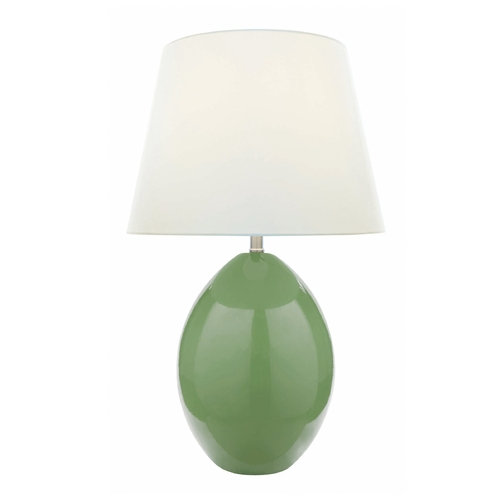 Lite Source Lighting Lite Source Lighting Koen Green Table Lamp with Empire Shade LSF-21507L/GRN