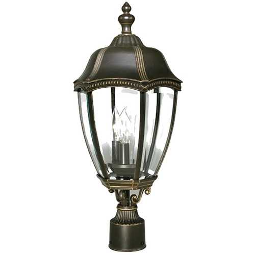 22 Inch Outdoor Post Light 955 20 Destination Lighting