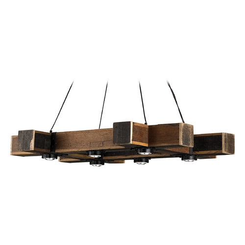 Currey and Company Lighting Currey and Company Lighting Natural / Black Smith Pendant Light 9429
