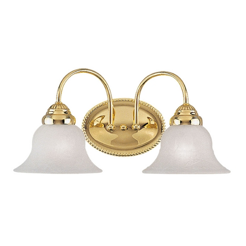 Livex Lighting Livex Lighting Edgemont Polished Brass Bathroom Light 1532-02
