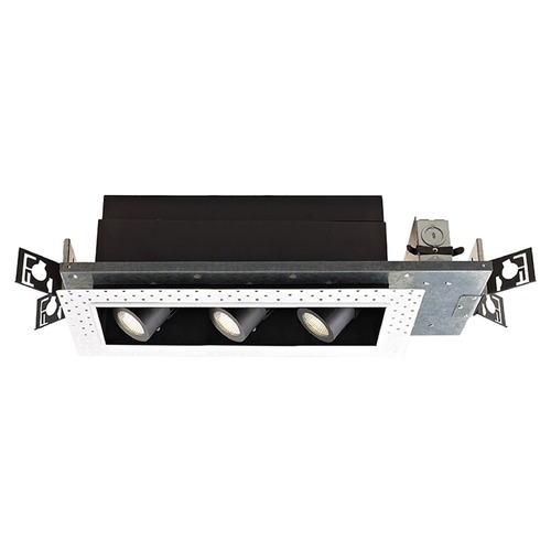 WAC Lighting WAC Lighting Precision Multiples Black LED Recessed Can Light MT-4LD316N-S27-BK