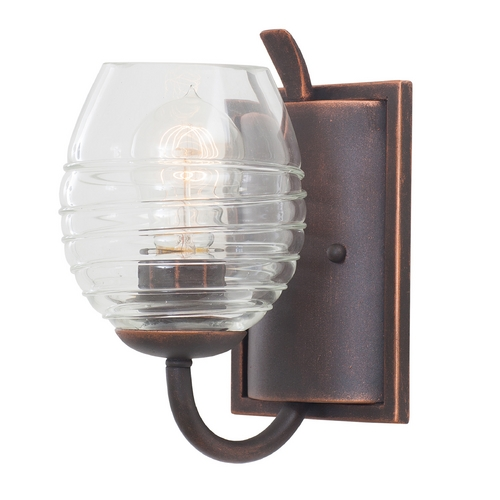 Kalco Lighting Kalco Lighting Seabrook Antique Copper Sconce 7351AC