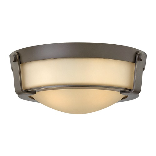 Hinkley Lighting Hinkley Lighting Hathaway Olde Bronze Flushmount Light 3223OB-GU24