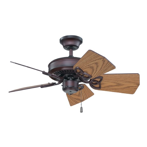 Craftmade Lighting Craftmade Lighting Piccolo Oiled Bronze Ceiling Fan Without Light K11243