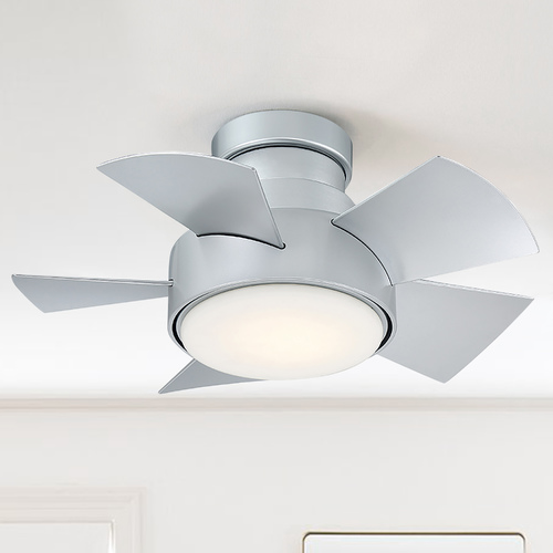 Modern Forms by WAC Lighting Modern Forms Titanium Silver 26-Inch LED Smart Ceiling Fan 2700K 2041LM FH-W1802-26L-27-TT