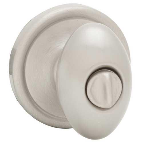 Satin Nickel Privacy Knob Set 730L15 6Al Rcs