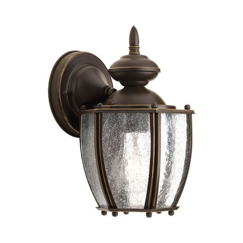 Progress Lighting Outdoor Wall Light with Clear Glass in Antique Bronze Finish P5762-20
